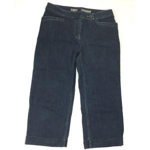 J Jill Genuine Fit Below Waist capri jeans (C358)